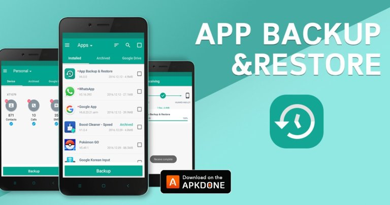 Backup & Restore MOD APK 6.8.3 Download (Premium Unlocked) free for Android