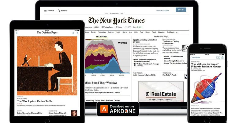 The New York Times MOD APK 9.40 Download (Subscribed) free for Android