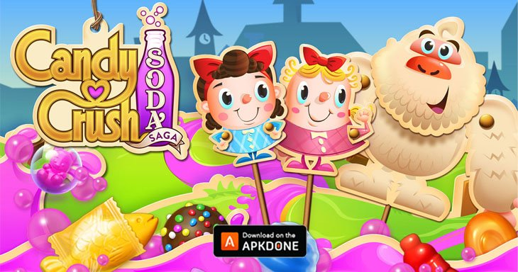 Candy Crush Soda Saga MOD APK 1.198.4 (Unlock all levels) for Android