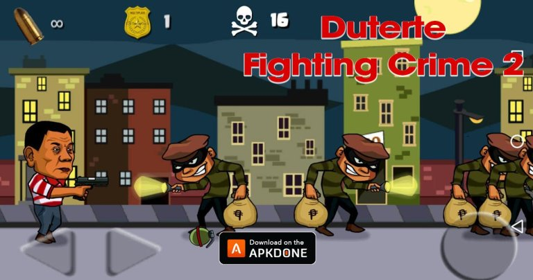 Duterte Fighting Crime 2 MOD APK 3.3 Download (Unlimited Money) for Android