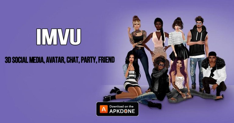 IMVU MOD APK 5.10.3.51003001 Download (Unlimited Money) for Android