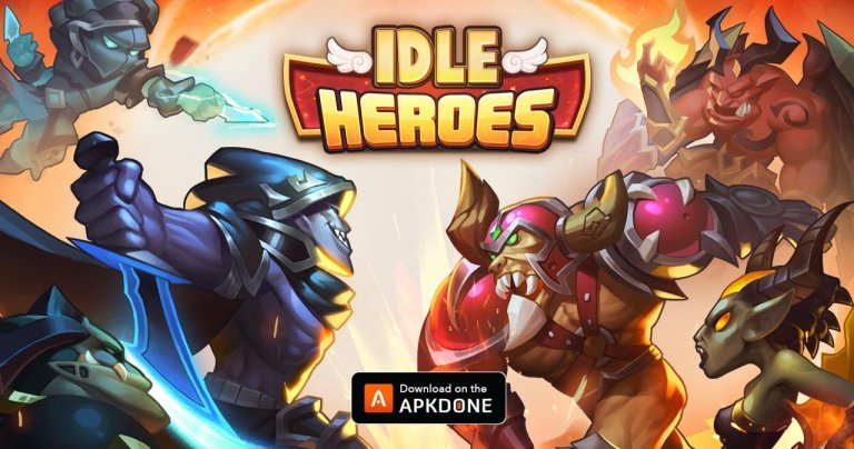 Idle Heroes MOD APK 1.26.0 Download (VIP 13) for Android