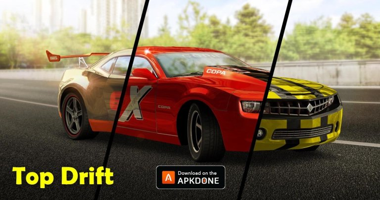 Top Drift MOD APK 1.6.5 Download (Unlimited Money) for Android