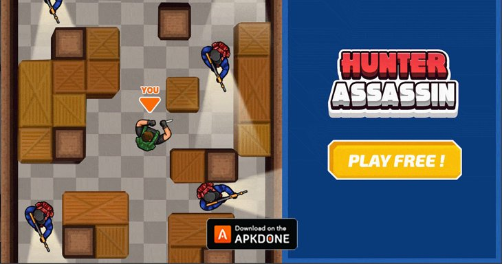 Hunter Assassin MOD APK 1.45.0 Download (Unlocked) free for Android