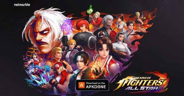 The King of Fighters ALLSTAR MOD APK 1.8.2 (Unlimited Skill) for Android