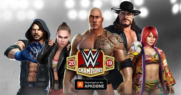 WWE Champions MOD APK 0.511 (One Hit) Download for Android