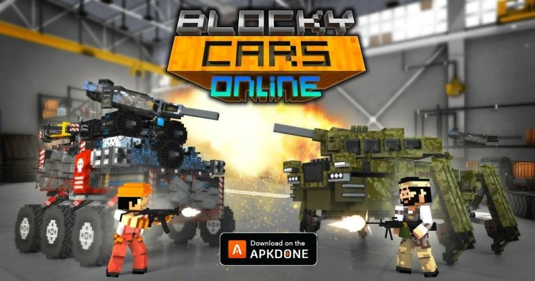 Blocky Cars MOD APK 7.7.0 Download (Unlimited Money) for Android