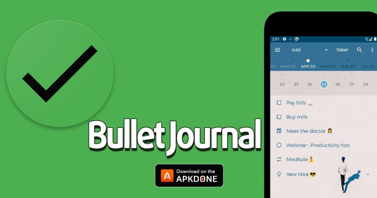 Bullet Journal MOD APK 1.3.0 Download (Premium Unlocked) for Android