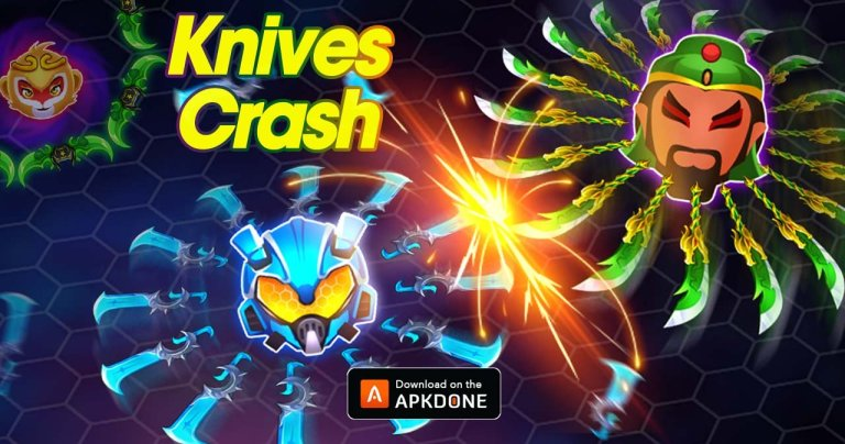 Knives Crash MOD APK 1.0.30 Download (Unlimited Money) for Android