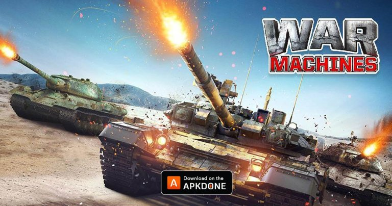 War Machines MOD APK 5.26.1 Download (Map hack) free for Android