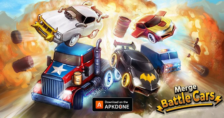 Merge Battle Car MOD APK 2.4.8 Download (Unlimited Coins) for Android