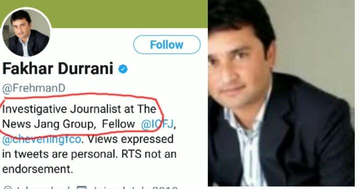 اسلام آباد ہائی کورٹ نے حکومتی اداروں کو صحافی فخر درانی کو ہراساں کرنے سے روک دیا