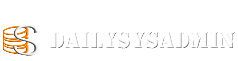 DailySysAdmin   For all things IT!