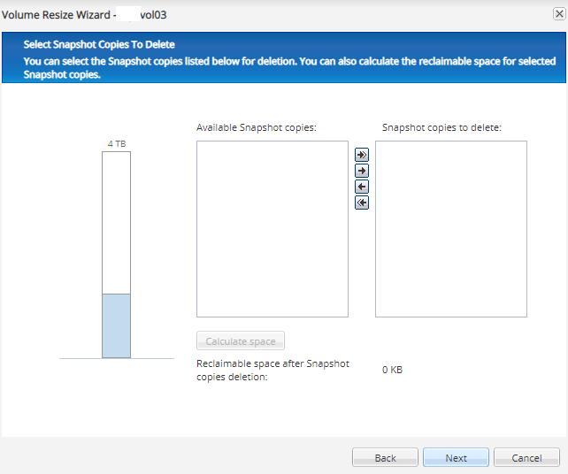 NetApp FAS2650 Resizing Aggregates LUNs & Volumes to resize
