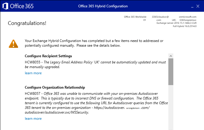 Migrating to Office 365 from Microsoft Exchange Step By Step – Stage