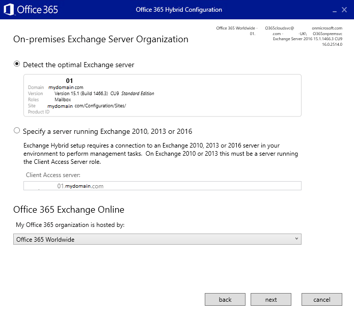 Migrating to Office 365 from Microsoft Exchange Step By Step