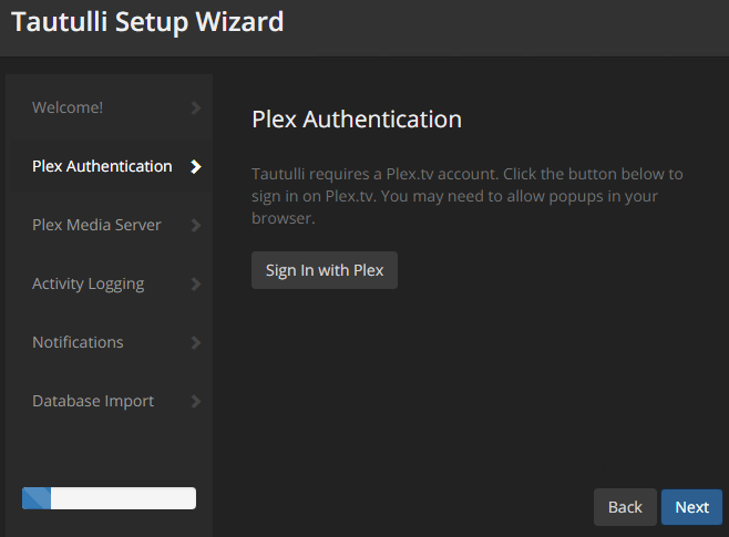 Installing and Configuring Tautulli for Plex Media Server on