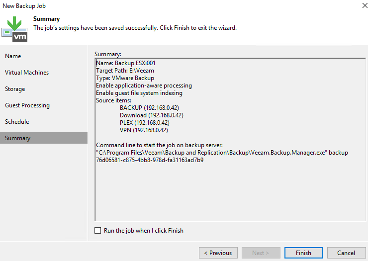 Veeam Resource Not Ready Cloud Task