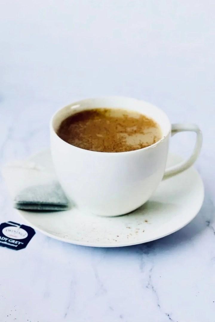 lady grey tea latte