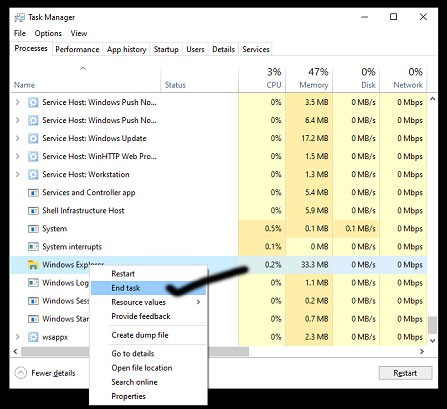 How to Fix Start Button Not Working in Windows 10