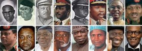 List Of Nigerian Presidents From 1960 Till Date