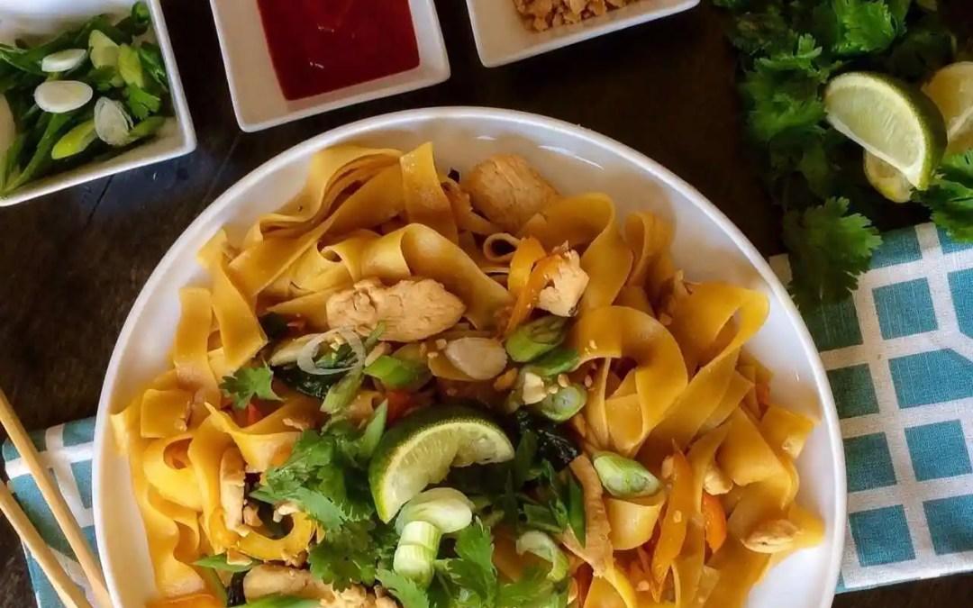 Easy Thai Take Out Menu at Home