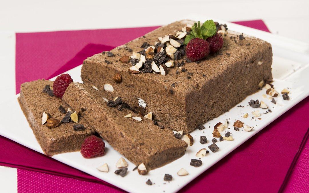 Chocolate, Hazelnut & Espresso Semifreddo