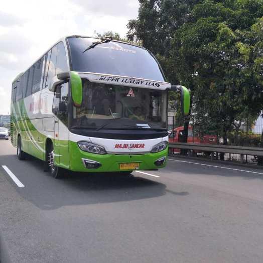 Harga Tiket dan Agen bus Maju Lancar.