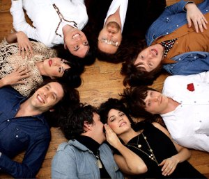 Show of hands · The Phenomenal Handclap Band, which hails from New York City, is composed of eight close-knit musicians. These nightlife veterans are playing the Dim Mak Party at Cinespace tonight, 8 p.m. - Photo courtesy of Big Hassle