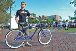 Pedal pusher · Dormbikes founder Micah Greenberg personally orders, assembles and delivers custom beach cruisers for students living near the USC campus at cheaper prices than the local stores. - James Watson | Daily Trojan