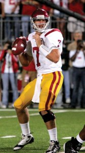 False start · Matt Barkley's performance Saturday was great, but let's not get too far ahead of ourselves, columnist Pedro Moura writes. - Leah Thompson | Daily Trojan