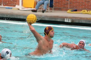 Deadly assault · USC two-meter Shea Buckner leads the Trojans' offensive attack this week in a major test against Pepperdine. The Trojans are coming off their first loss in two seasons after falling 5-4 to UCLA. - Dieuwertje Kast   Daily Trojan