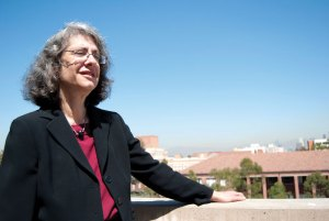 Genius · USC professor Elyn Saks, schizophrenic herself, will use her MacArthur grant to write a book featuring others with schizophrenia. - Vicki Yang | Daily Trojan