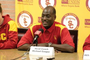 Seasoned pro · New USC women's basketball coach Michael Cooper is not only a former WNBA coach but also a former Los Angeles Laker. - Dieuwertje Kast | Daily Trojan