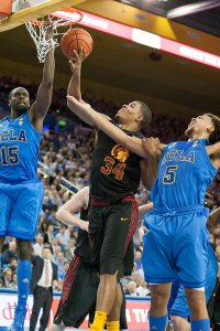 On point ·  Senior point guard Jio Fontan scored 15 points, including the game-clinching free throw in overtime in USC's 75-71 win over UCLA. - Courtesy of the Daily Bruin