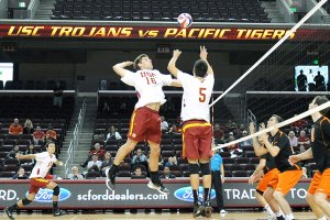 Starting fresh · The USC men's volleyball team is still adjusting to the losses of All-American players Tony Ciarelli and Steven Shandrick. Ciarelli was the 2012 national player of the year.  - William Ehart | Daily Trojan