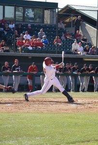 Just enough · Junior shortstop James Roberts (above) finished 0-3 against Loyola Marymount, but the Trojans got help from junior designated hitter Jake Hernandez (2-4) and senior second baseman Adam Landecker (2-3). - Ralf Cheung | Daily Trojan