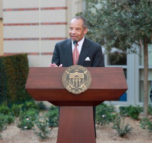 Legendary leader · Vice President for Student Affairs Michael L. Jackson announced Monday that he will resign after 18 years at USC. - Ralf Cheung | Daily Trojan