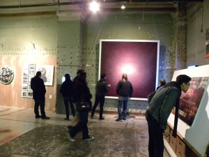 Art of love · The Downtown LA Art Walk falls on Valentine's Day this month. Spend the night exploring the various galleries along the walk. - Courtesy of Qathryn Drehm