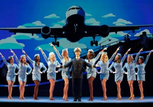 Jack of all trades · Stephen Anthony plays Frank Abagnale Jr. in Catch Me If You Can. While evading the FBI, Abagnale takes on many different identities including a pilot, a lawyer and a doctor.  - Courtesy of Carol Rosegg