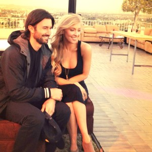 Famous ties · Brandon Jenner and Leah Felder of Brandon and Leah decided against building their brand around their families' fame. - Courtesy of Rogers & Cowan