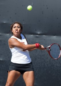 Loaded · Sophomore Sabrina Santamaria is the highest ranked of four USC players who are ranked in the top 60 of the ITA's current rankings. - Ralf Cheung | Daily Trojan