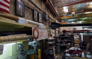 """Rocket science · The USC  Rocket Propulsion Lab, where """"Traveler"""" is currently being built, is located in the Viterbi School of Engineering at the Robert Glenn Rapp Engineering Research Laboratory. - Ralf Cheung   Daily Trojan"""