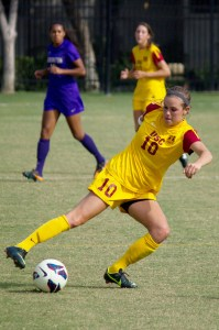 Redirect · USC senior midfielder Jordan Marada hopes to lead her team to a resurgent 2013 season. Marada started every game last season for the Women of Troy and notched a team-leading five goals and five assists. - Joseph Chen   Daily Trojan