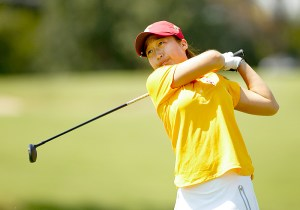 Up and down · The Women of Troy were tied for eighth place after the first day of play, but sophomore Kyung Kim shot 4-under par (66) in the final round to help claim the team title for USC, as well as the individual title. - Courtesy of Tulsa Sports Information