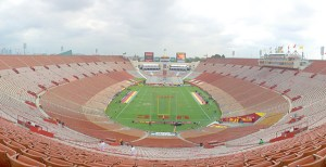 New territory · USC's game against Arizona will be the first time the team has played at the Los Angeles Memorial Coliseum on a Thursday during the BCS era. All classes will operate on their normal schedules. - Ralf Cheung   Daily Trojan