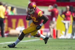 Injury woes · Redshirt junior tight ends Randall Telfer (above) and Xavier Grimble were both ruled out for Saturday's game against Utah. Their absence leaves USC with only one healthy scholarship tight end available. - Ralf Cheung | Daily Trojan