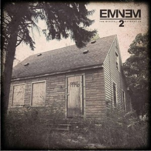 """Enlisting a """"Monster"""" · Eminem's hotly anticipated The Marshall Mathers LP 2 features a verse from Compton rapper Kendrick Lamar. - Courtesy of Interscope Records"""