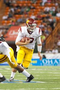 Moving on · Max Wittek stepped in for an injured Matt Barkley at the end of the 2012 season before losing the starting job last season. - Ralf Cheung | Daily Trojan