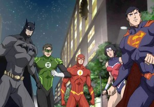 A League of Their Own · Batman, voiced by Jason O'Mara, and his fellow superheroes must unite against interdimensional tyrant Darkseid, voiced by Steve Blum in Justice League: War. - Photo courtesy of Warner Bros.